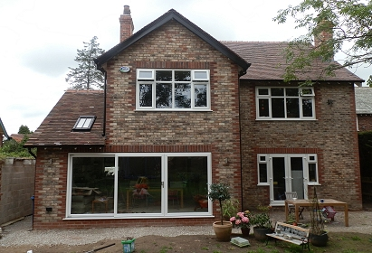 Refurbishment of house on Woodford Road, Bramhall
